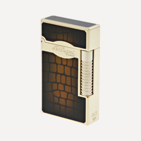 S.T. Dupont Line 2 LE GRAND CROCO DANDY Soft Flame Lighter 23024