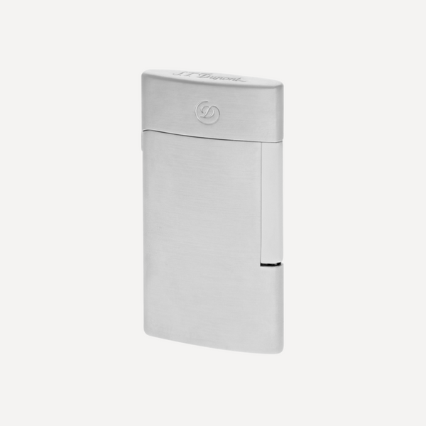 S.T. Dupont E-Slim Brushed Chrome Electric Lighter