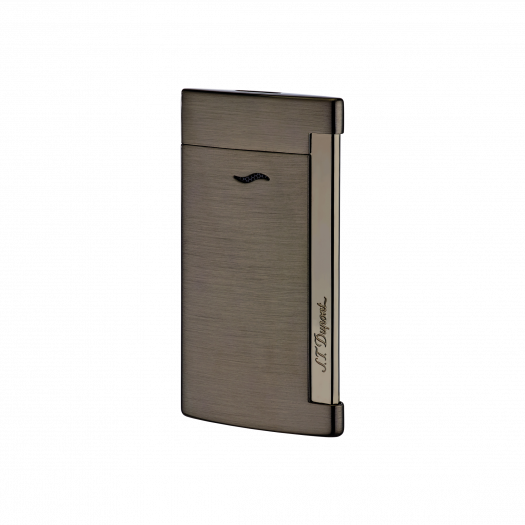 S.T. Dupont SLIM 7 FULL BRUSHED GUN METAL LIGHTER 27712