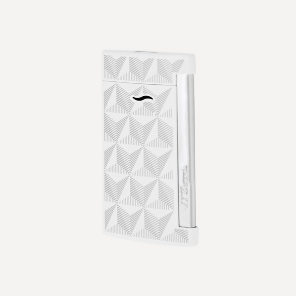 S.T. Dupont Slim 7 Firehead White Electric Lighter