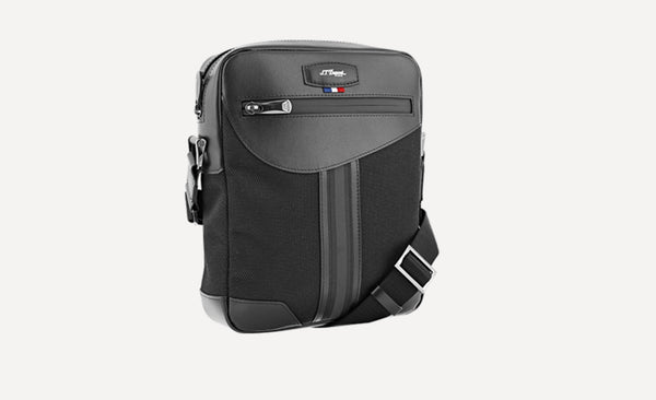 S.T. Dupont ZIPPERED BAG DÉFI MILLENIUM BLACK-174006