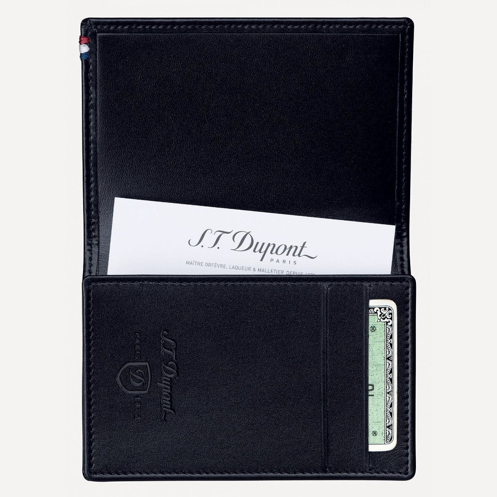 S.T. Dupont Business Cards Holder, Line D Leather 180013