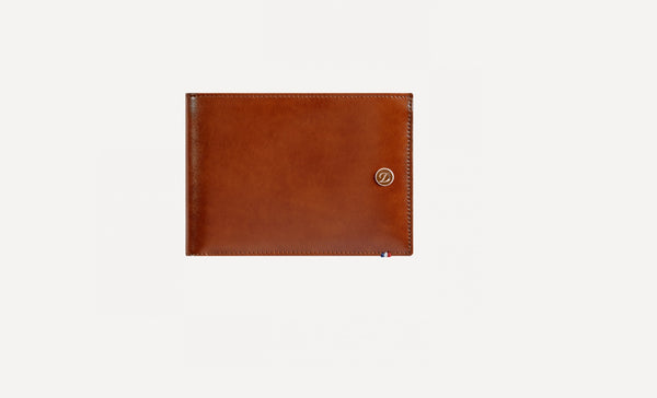S.T. Dupont BILLFOLD 6 CREDIT CARDS, LINE D LEATHER 180100