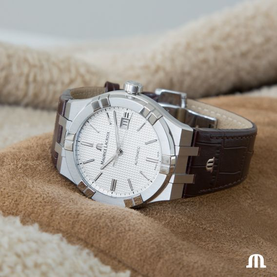 MAURICE LACROIX AIKON Automatic 42mm AI6008-SS001-130-1