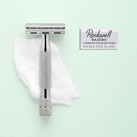 Rockwell Razors 3-Piece Set with 2C Adjustable Safety Razor