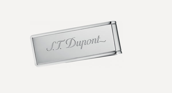 S.T. DUPONT INOX FINISH MONEY CLIP-003081