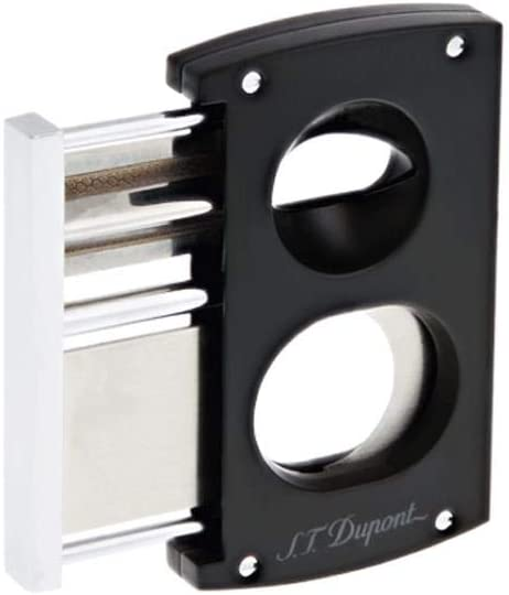 S.T. Dupont CIGAR CUTTER Black & Chrome 003419
