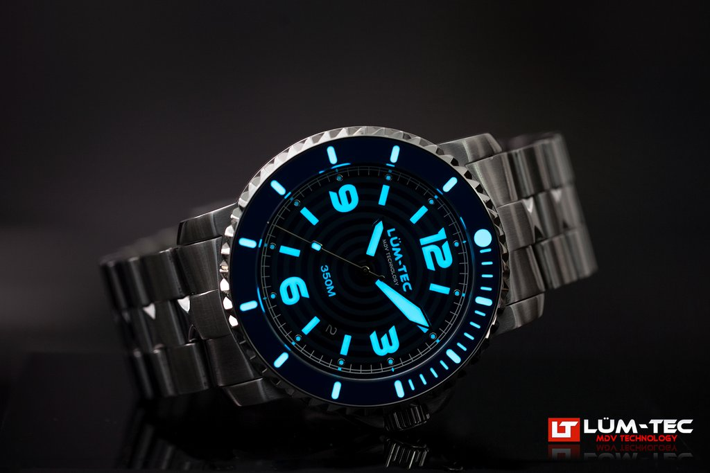LUM-TEC 350M-2 AUTOMATIC WATCH