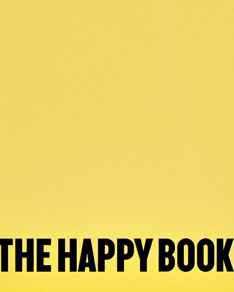 Nuuna Notebook Graphic L  THE HAPPY BOOK BY STEFAN SAGMEISTER 53375L