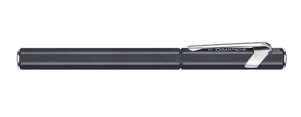 Caran-DAche-849-Metal-Black-Fountain-Pen-Medium