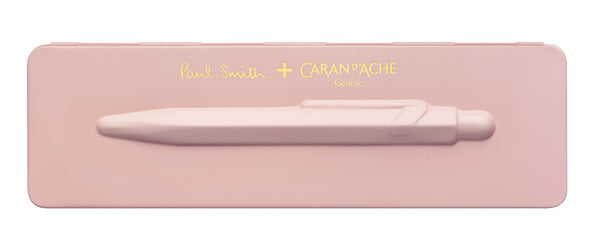 Caran-DAche-849-Paul-Smith-Collection-Rose-Pink-Ballpoint-Pen