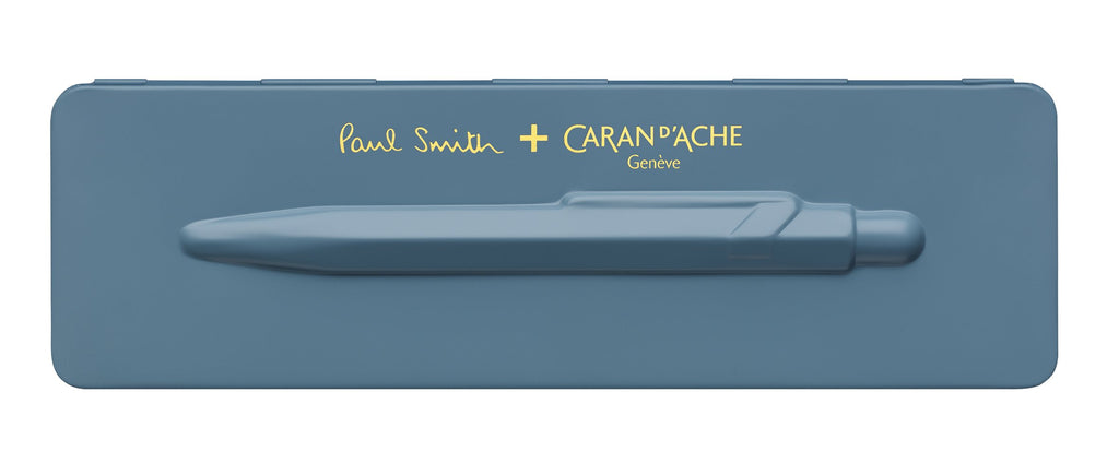 Caran-DAche-849-Paul-Smith-Collection-Petrol-Blue-Ballpoint-Pen