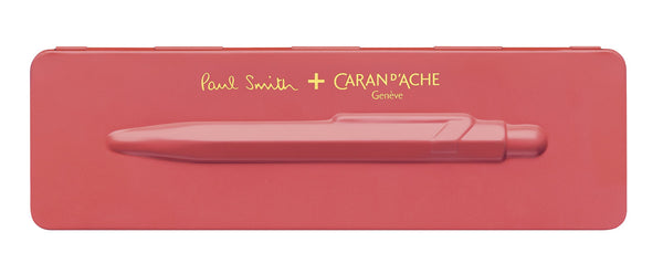 Caran-DAche-849-Paul-Smith-Collection-Coral-Pink-Ballpoint-Pen
