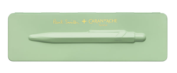 Caran-DAche-849-Paul-Smith-Collection-Pistachio-Green-Ballpoint-Pen