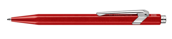 Caran-D'Ache-849-Metal-X-Red-Ballpoint-Pen