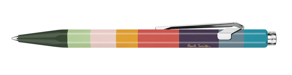 Caran D'Ache 849 Paul Smith Collection Petrol Blue Ballpoint Pen