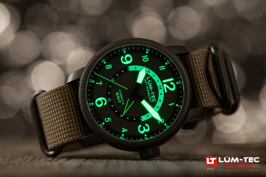 LUM-TEC Combat B45 GMT WATCH