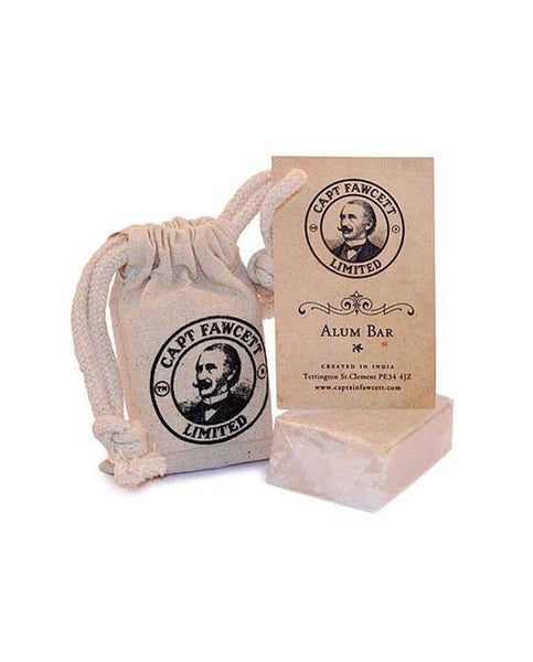 Captain Fawcett's Traditional Alum Bar (90g/3.17oz)