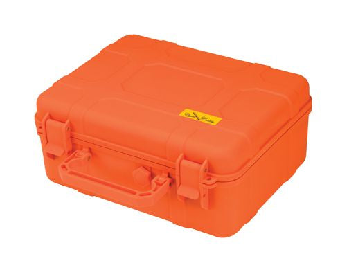 Cigar Caddy 40 Count Orange Travel Humidor