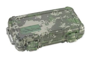 Cigar Caddy 5 Count Camo Travel Humidor
