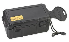 Cigar Caddy 15 Count Black Travel Humidor