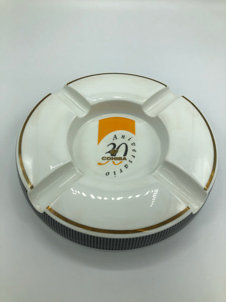 COHIBA 30th Anniversary 24K Gold Ashtray