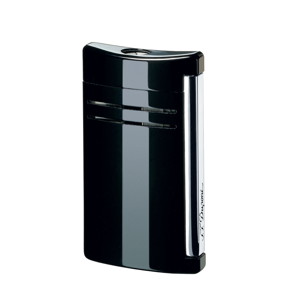 S.T. Dupont Maxi Jet Glossy Black Torch Lighter 020104N