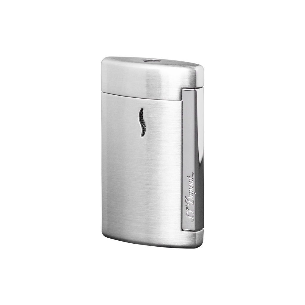 S.T. Dupont Mini Jet Chrome Brushed Torch Lighter 10504