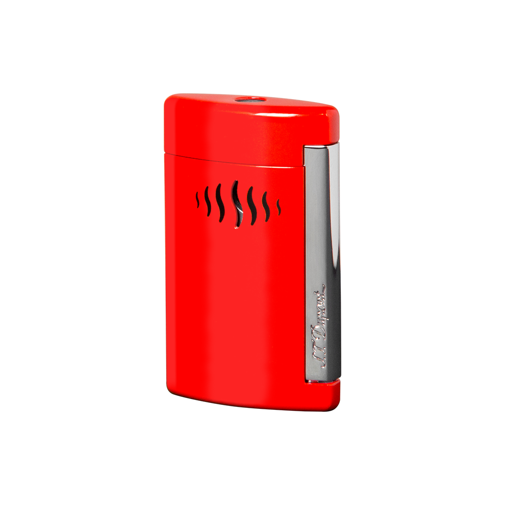 S.T. Dupont Mini Jet Wild Red Torch Lighter 10505