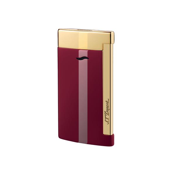 S. T. Dupont SLIM 7 Lighter Red & Gold Finish 27707