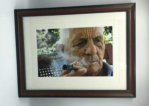 Don Alejandro Robaina Limited Edition Autographed Photograph