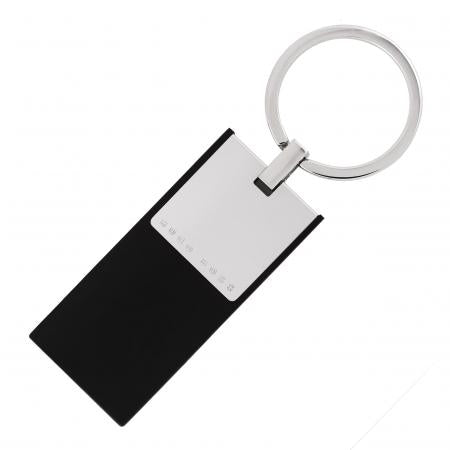 Hugo Boss Pure Cloud Black Key Ring