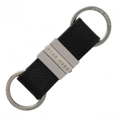 Hugo Boss Storyline Black Key Ring