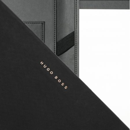 Hugo Boss Essential Black/Rose Gold A4 Folder