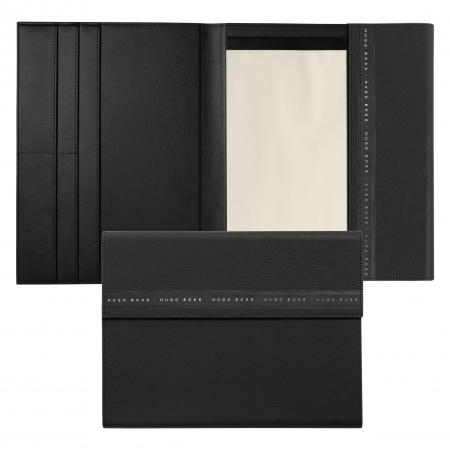 Hugo Boss Ribbon Black A4 Folder
