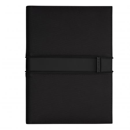 Hugo Boss Outline Black Folder A5