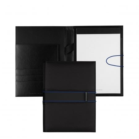 Hugo Boss Outline Blue Folder A5