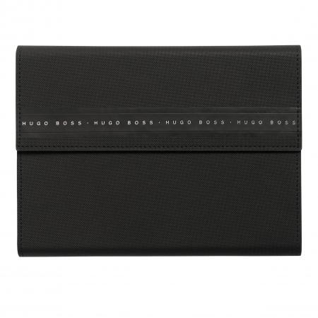 Hugo Boss Ribbon Black A5 Folder