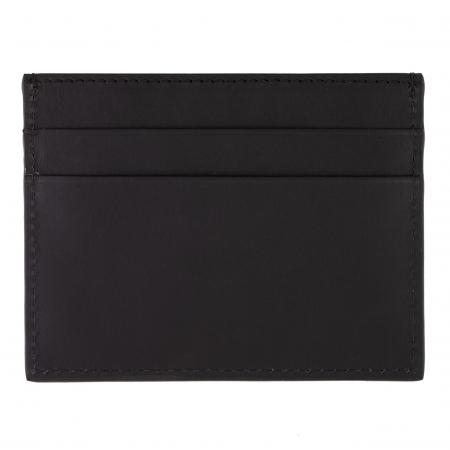 Hugo Boss Gear Black Card Holder