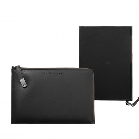 Hugo Boss Storyline Grey A5 Folder