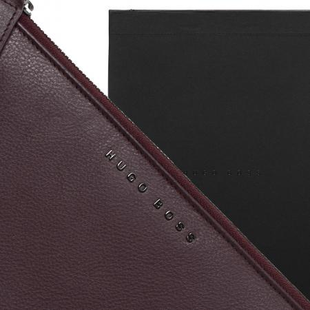 Hugo Boss Storyline Burgundy A5 Folder