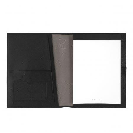 Hugo Boss Companion Black Folder A5