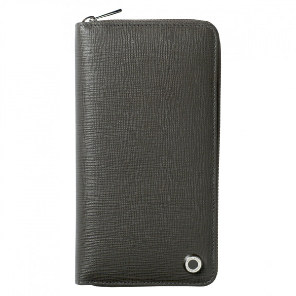 Hugo Boss Tradition Grey Long Zipped Folder