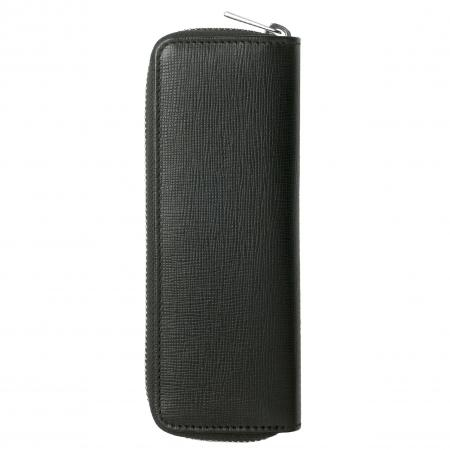 Hugo Boss Tradition Black Zipped Pen Pouch