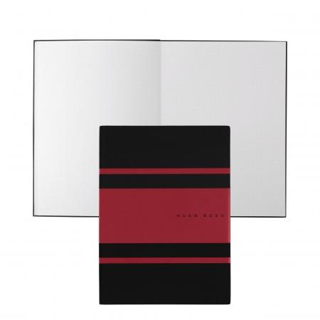Hugo Boss Gear Matrix Red Notepad A5