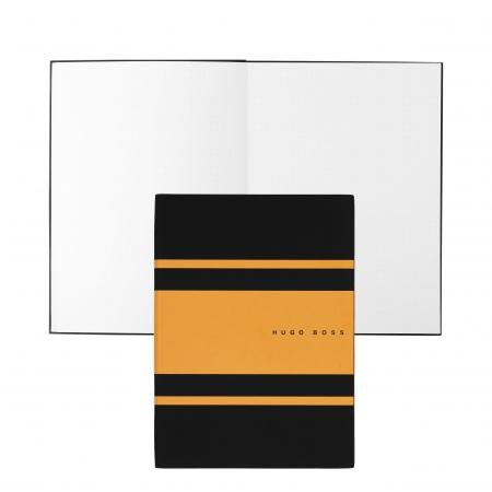 Hugo Boss Gear Matrix Yellow Notepad A5