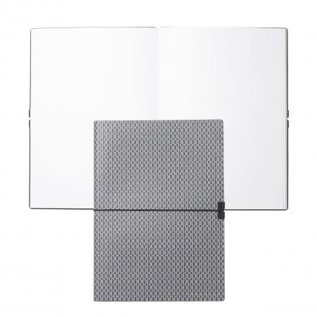 Hugo Boss Storyline Dark Grey A5 Note Pad