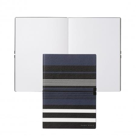 Hugo Boss Storyline Stripes Blue A5 Note Pad