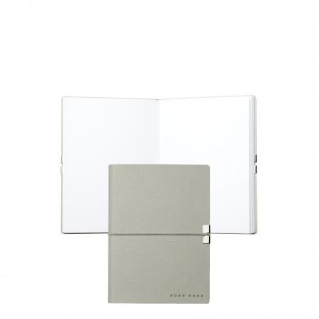 Hugo Boss Storyline Light Grey A6 Note Pad