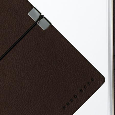 Hugo Boss Storyline Burgundy A6 Note Pad